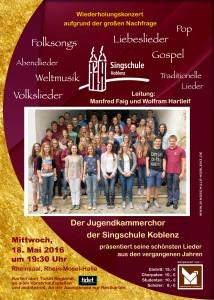 18. Mai 2016, Rhein-Mosel-Halle