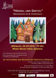 Hänsel und Gretel die berühmte Märchenoper nach Engelbert Humperdinck in einer Bearbeitung für Kinder- und Jugendchor @ Basilika St. Kastor, Koblenz